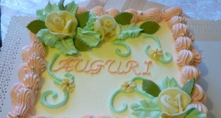 Birthday cake whipped cream